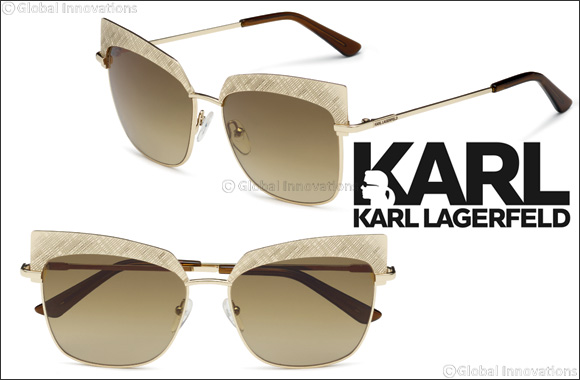 Karl Lagerfeld eyewear - Contemporary glamour, and high-tech design.