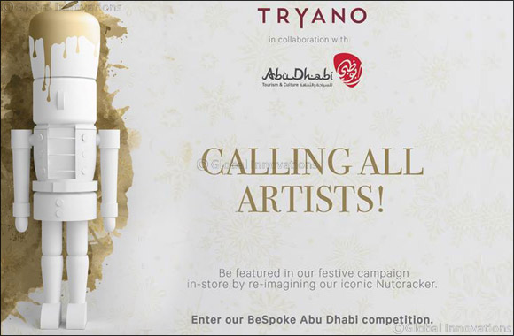Calling all artists: TRYANO presents Bespoke Abu Dhabi in Partnership with Abu Dhabi Tourism & Cultural Authority