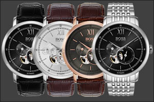 Tailored to lifestyles: BOSS Signature Timepiece Collection