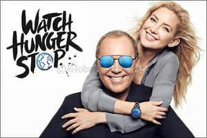 Kate Hudson Joins Michael Kors to Watch Hunger Stop