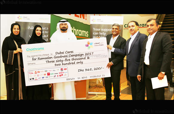 Choithrams concludes 'Ramadan Goodness Campaign' in association with Dubai Cares
