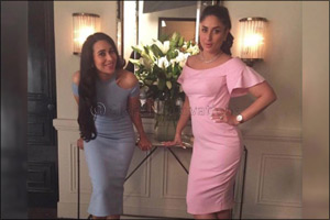 Bollywood sibling divas come together for the new diamond jewellery commercial of Malabar Gold&Diamo ...