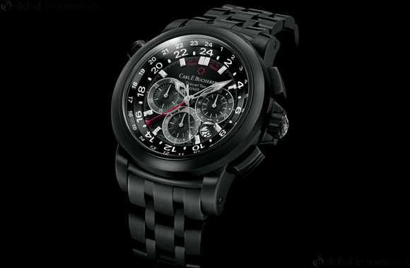 Carl F. Bucherer Presents Patravi TravelTec  Black