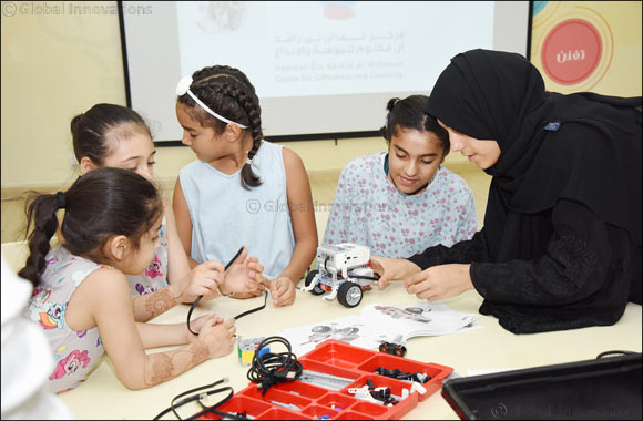 Children of Awqaf and Minors Affairs Foundation Develop Skills in Robotics at Training Workshop