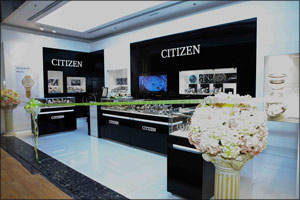 CITIZEN opens refurbished boutique at Sharjah City Centre