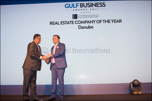 Danube Properties Bags two prestigious awards this September