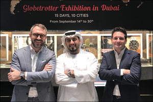 TAG Heuer's Globetrotter Exhibition Opens in Dubai Mall on September 15, As Part of an Ambitious Glo ...
