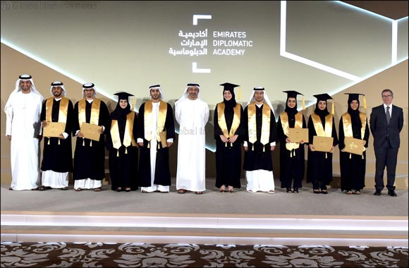 His Highness Sheikh Abdullah bin Zayed Al Nahyan Attends Graduation of Second Cohort of Emirates Diplomatic Academy Students