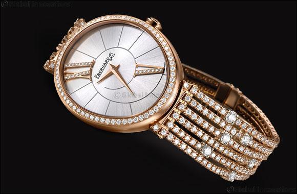 Glittering beauty set with diamonds - a true Gilda beauty