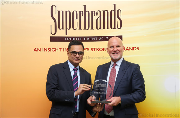 NMC Healthcare wins 'Brand of the Year 2017' by Superbrands