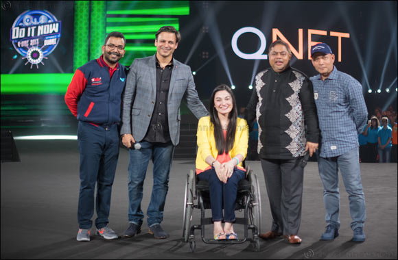 QNET Celebrates 19th Anniversary At V-UAE 2017 In Dubai