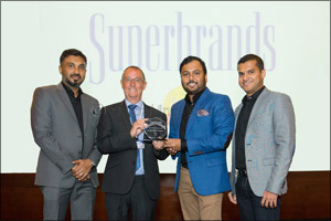 Malabar Gold & Diamonds recognized as the �Superbrand' 5th time in a row by Superbrands Council