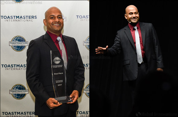 UAE Toastmasters community to host the World Champion of Public Speaking