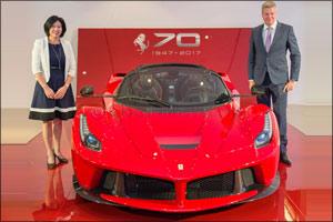 Al Tayer Motors to Celebrate Ferrari's 70th Anniversary in the UAE
