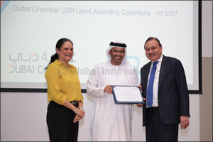 Alpen Capital recognised once again for its commitment towards CSR with the Dubai Chamber CSR Label