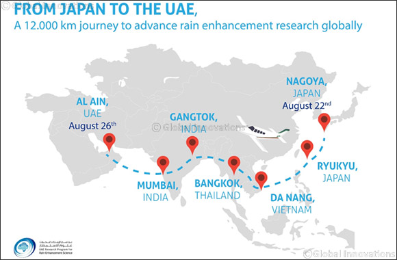 UAE Rain Enhancement Program's Japanese Awardee
