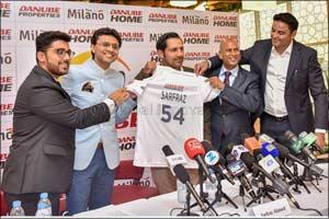 Danube Signs Sarfaraz Ahmed as Brand Ambassador for Pakistan