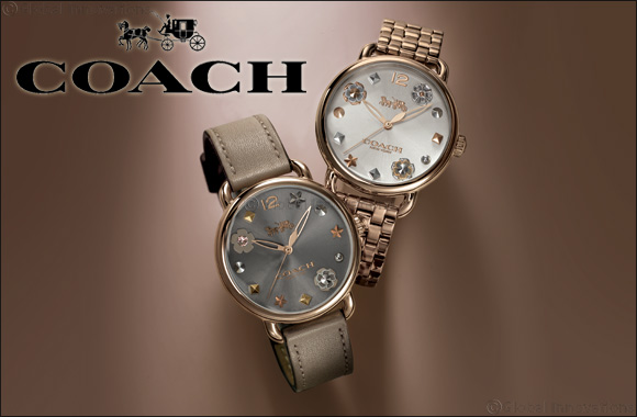 Hour Choice presents Coach Delancey Collection