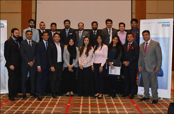 RSM hosts workshop on Understanding VAT and its Implications in the UAE