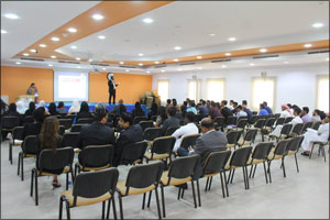 Skyline University College Toastmasters Club Conducted Orientation for Freshmen Students