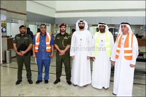 Emirates Post Group carries out mock evacuation