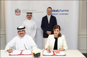Ministry of Health & Prevention and GlobalPharma sign agreement to maintain a strategic stock of med ...