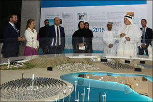 Masdar welcomes Luxembourg royal delegation