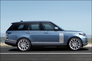 The New 2018 Range Rover � to be Revealed for the First Time in the Region at Dubai International Mo ...