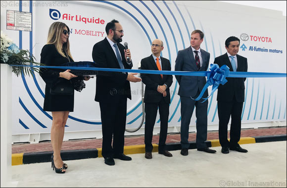 Al-Futtaim Motors and Air Liquide officially inaugurate first hydrogen station for Fuel Cell Electric vehicles in the UAE