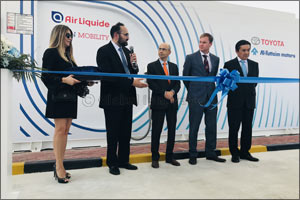 Al-Futtaim Motors and Air Liquide officially inaugurate first hydrogen station for Fuel Cell Electri ...