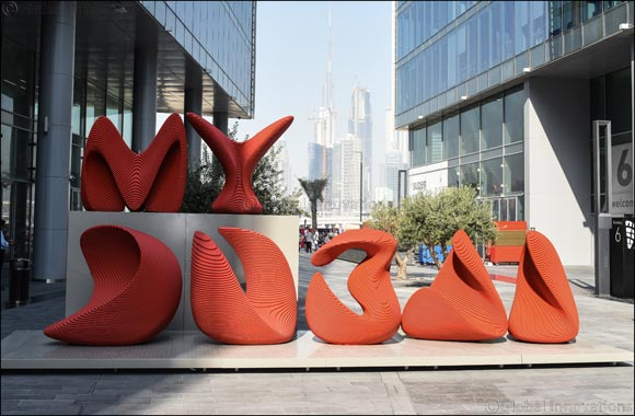 MY Dubai - The City Sign by Apical Reform