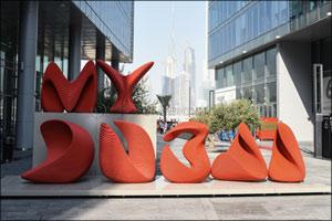 MY Dubai - The City Sign by Apical Reform