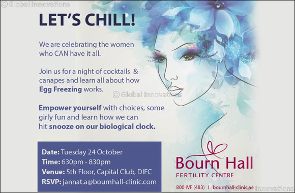 Ladies get ready to chill & learn all about Egg Freezing