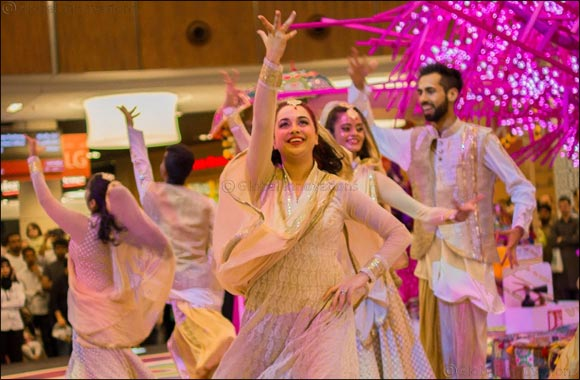 The Dubai Mall celebrates Diwali with a splash of colour