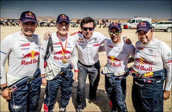 Peugeot on the Podium at Rallye Du Maroc: Ready to Tackle Dakar 2018 After a Productive Experience in Morocco!