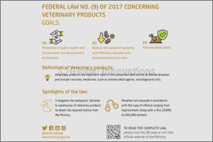 UAE President Issues Federal Law No. (9) of 2017 for Regulation of Veterinary Products
