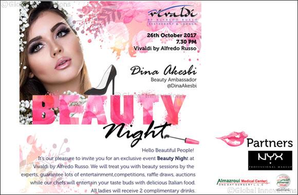 Beauty Night Is Back at Sheraton Dubai Creek