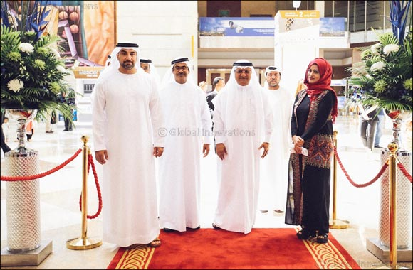 Humaid Mohammed Al Qatami, Director General, Dubai Health Authority Officially Opens Vision-x 2017