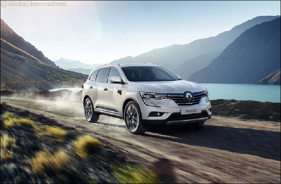 Renault KOLEOS achieves five-star Euro NCAP rating