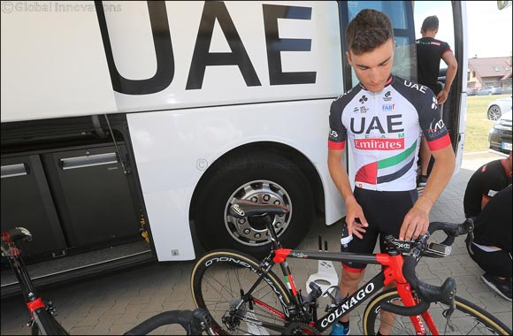 UAE Team Emirates Arrive in China for Season Finale