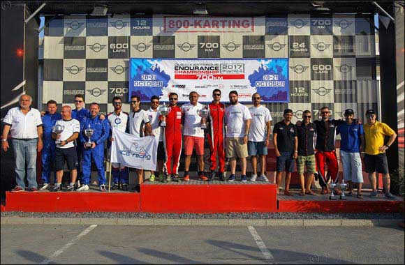 Batelco Racing wins round three of the Dubai Kartdrome Endurance Championship