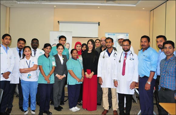 "Emirates Post Group organizes ""The Health Day"" event at Dubai Karama Central Post Office"