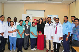 Emirates Post Group organizes �The Health Day� event at Dubai Karama Central Post Office