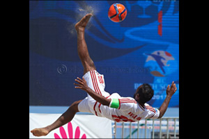 Hungry UAE out to impress at Beach Soccer Intercontinental Cup