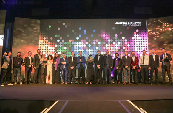 Glittering awards ceremony caps off three days of successful business and networking at Light ME 2017