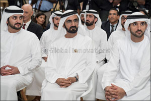 Mohammed bin Rashid Attends MoU Signing for Area 2071