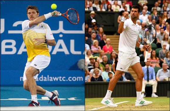 Grand Slam Champions Novak Djokovic and Stan Wawrinka Complete the Mubadala World Tennis Championship 10th Edition Line-up
