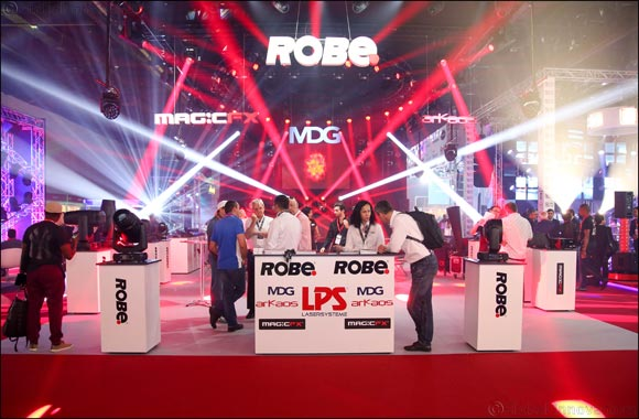 Prolight + Sound ME wraps up in Dubai attracting 2,200 trade buyers from 50 countries