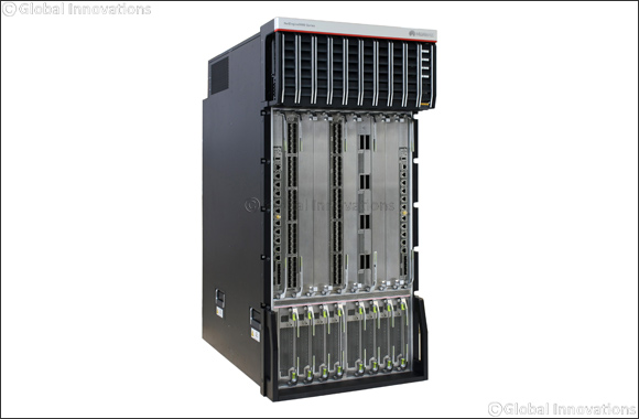 Huawei Launches Industry largest Router NE9000 for 400G DCI Solution
