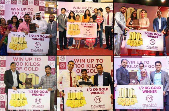 MALABAR GOLD & DIAMONDS :  Win up to 100 Kilos of Gold Campaign